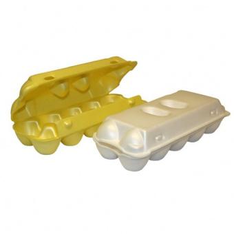Лотки для яиц из вспененного полистирола